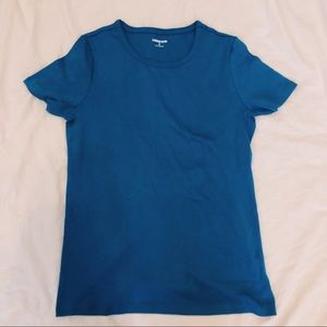 Blue Land's End Tee